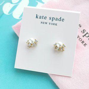 NWT Kate Spade Little Gem Cluster Studs + dust bag